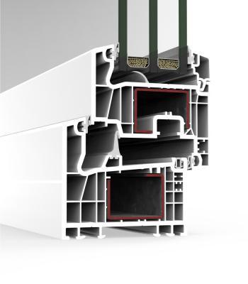 Sistema A 84 Abisagrada - PVC